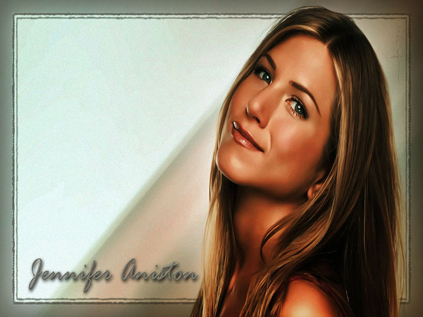 Jennifer Aniston Long Brown Straight Hairstyle