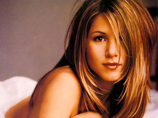 Jennifer Aniston Long Brown Hair