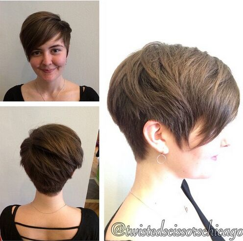 Simple short hair for everyday hairstyles