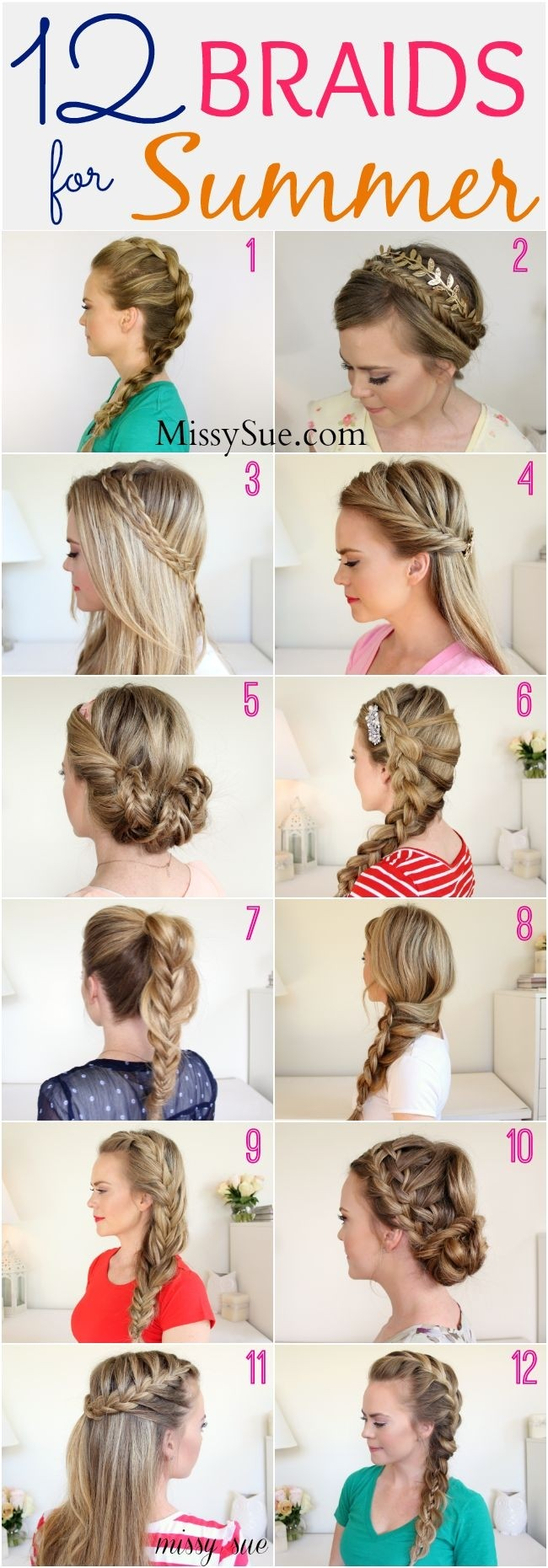 Chic braided hairstyles for girls