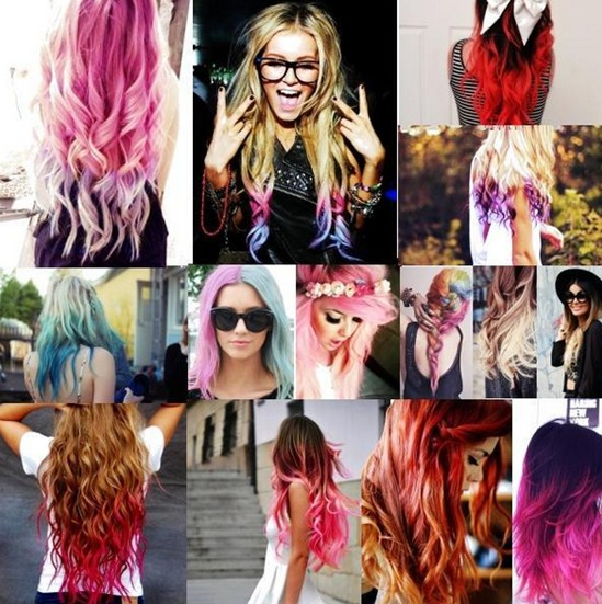 Cool ombre hairstyles for long hair