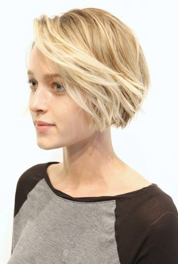 Simple bob haircut for girls