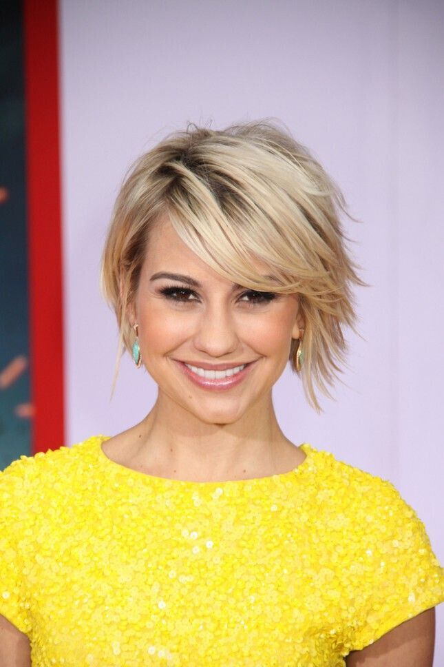 Layered bob haircut for blonde hair