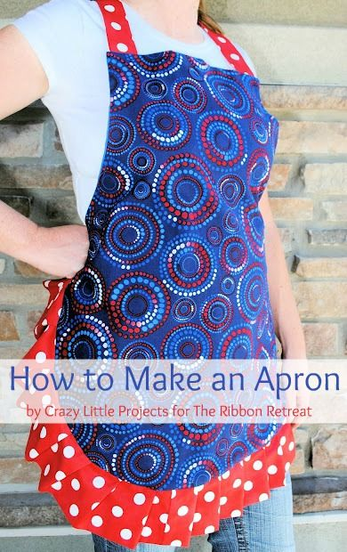how to make an apron via