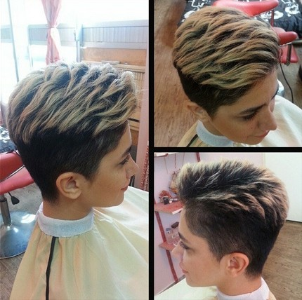 Short Layered Pixie Hairstyle