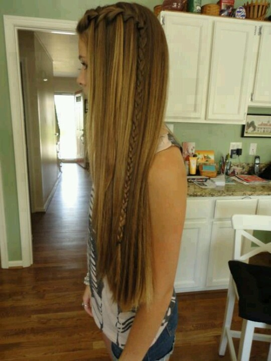 Long Braided Hair for School Hairstyles
