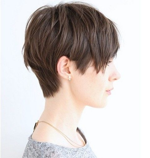 Layered pixie haircut for everyday hairstyles