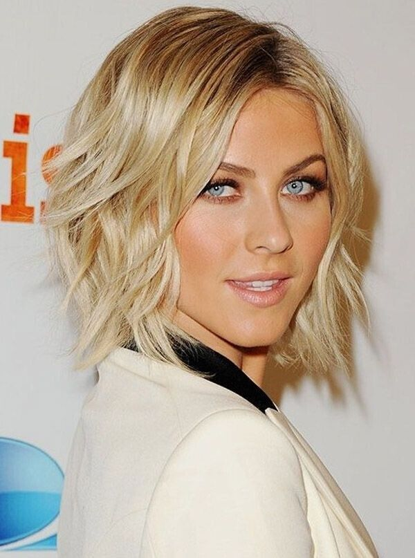 Middle layer bob haircut