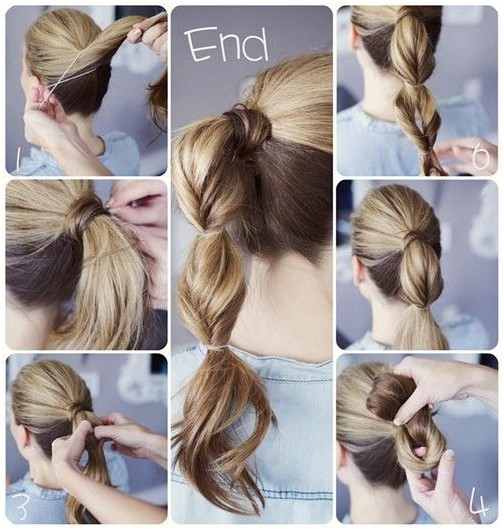 Cute ponytail for school hairstyles