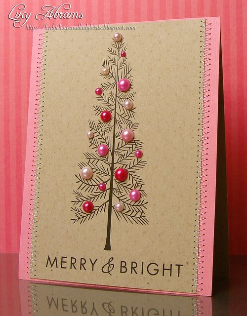 Pearl Christmas cards