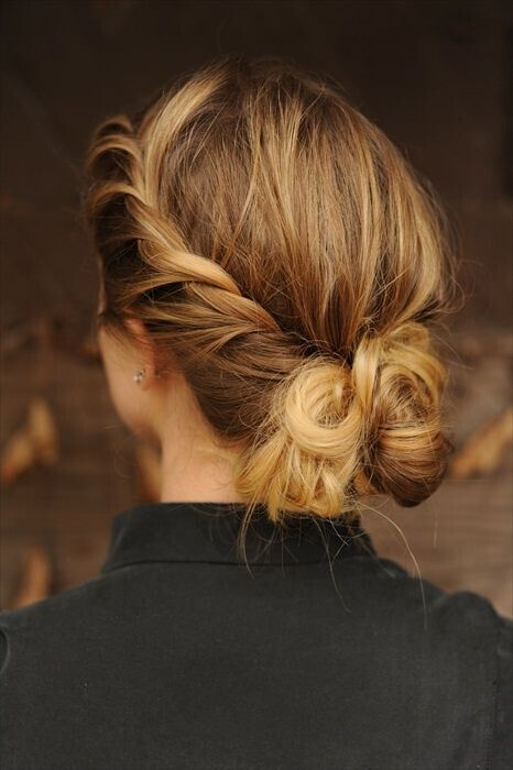 Nice braided updo