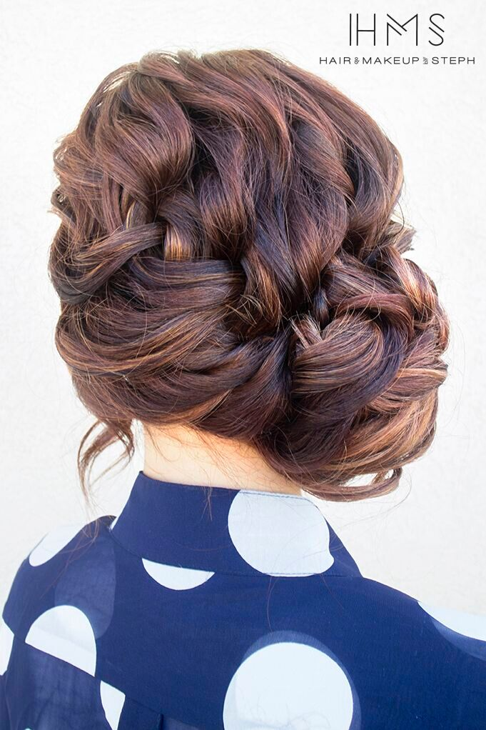 French updo for everyday hairstyles