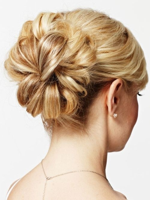 Bridesmaids updo hairstyle