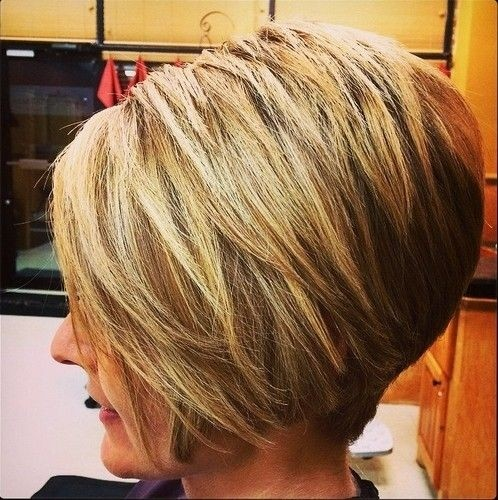 Inverted bob haircut for thick hair