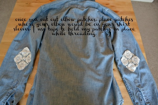 Pointed elbow patches