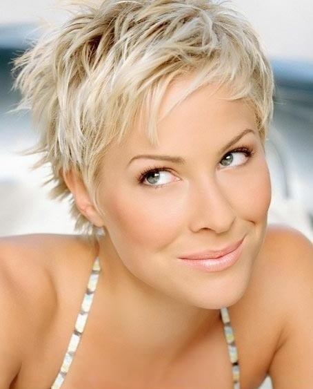 Short blonde hair for everyday hairstyles