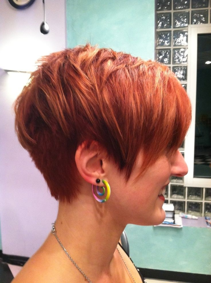 Pretty short haircut for women