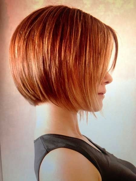 Layered Bob Haircut for Ombre Hair