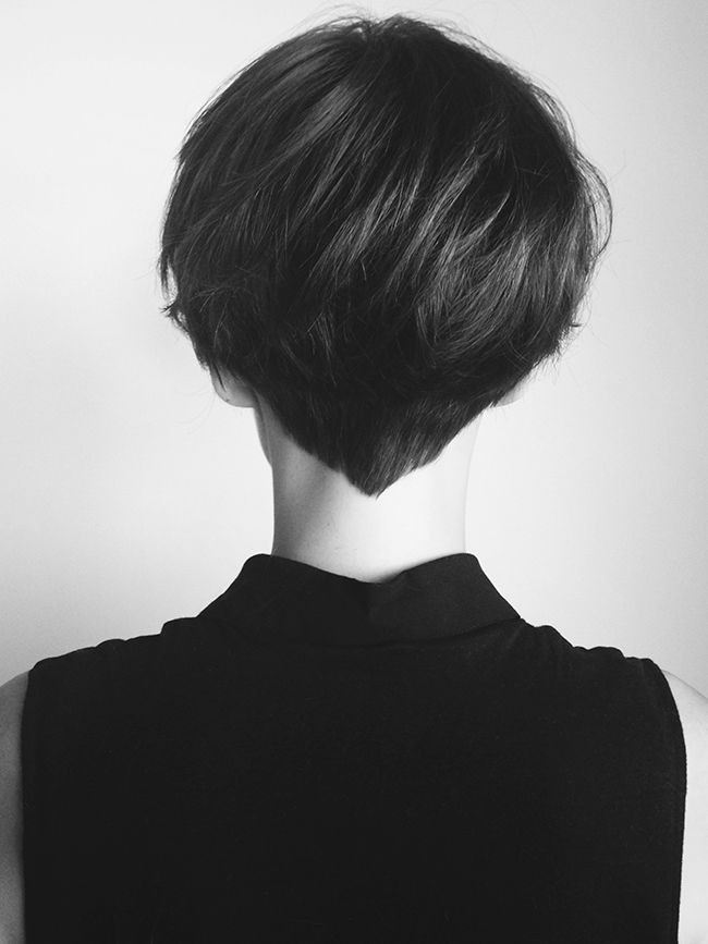 Cool short haircut