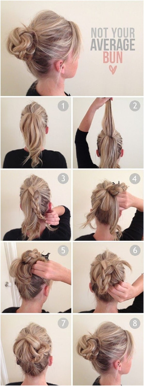 Not your average bun tutorial