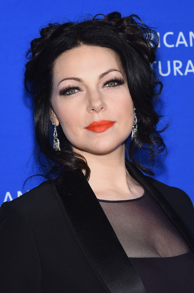 Laura Prepon Curly Updo