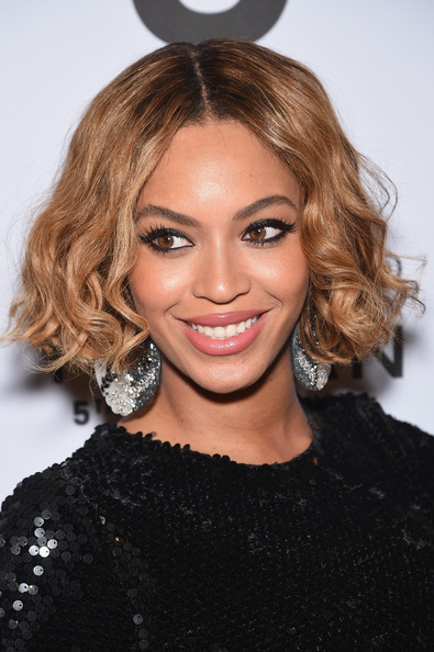 Beyonce Knowles Short hair with side part