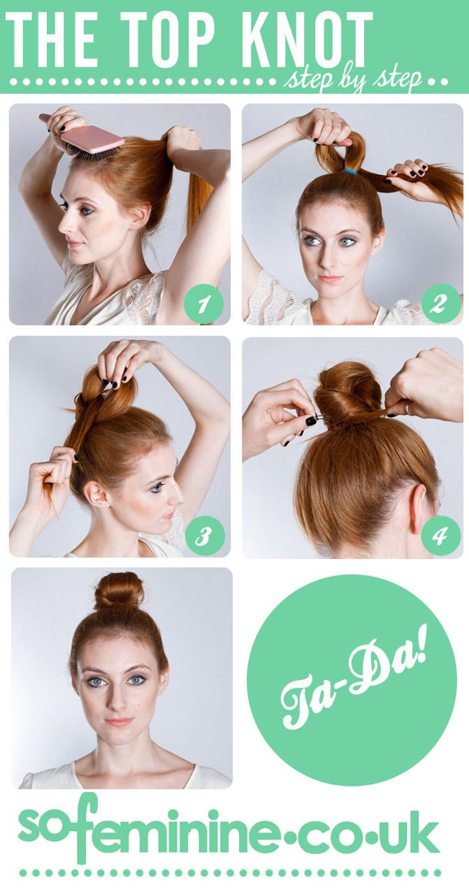 Small hair bun