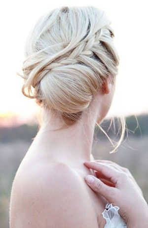 Nice braided bun