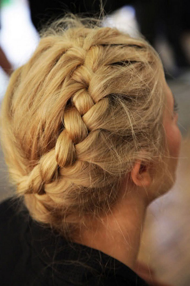 Nice braided hairstyle