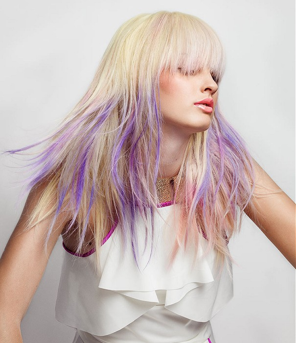 Chic ombre hairstyle idea