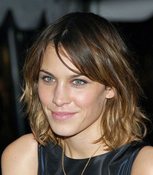 Ombre medium hairstyle