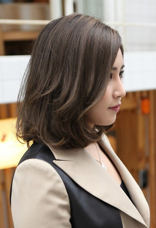 Curly Bob for Asian hairstyles