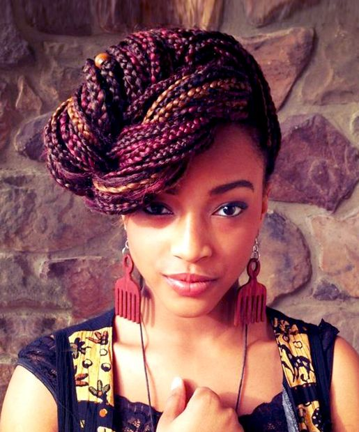 Best African hair braid style