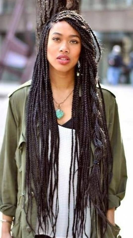 Awesome African hair braid style