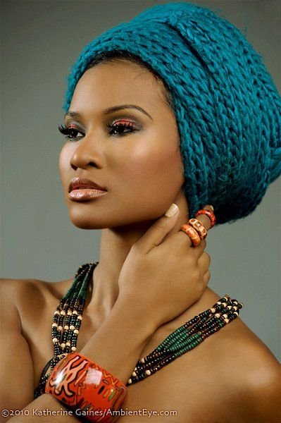 Stunning colored African hair braiding