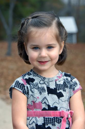 Nice hairstyle for little girls