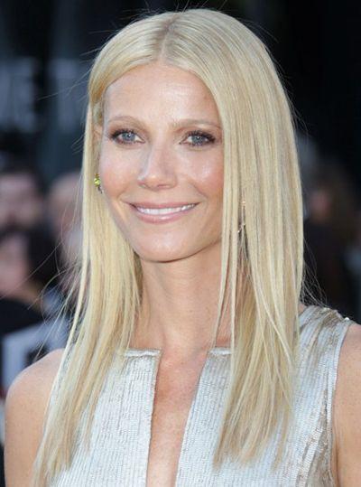 Long layered straight hair - Gwyneth Paltrow hairstyles