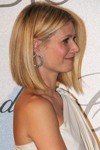 Blunt Cut Bob - Gwyneth Paltrow Hairstyles
