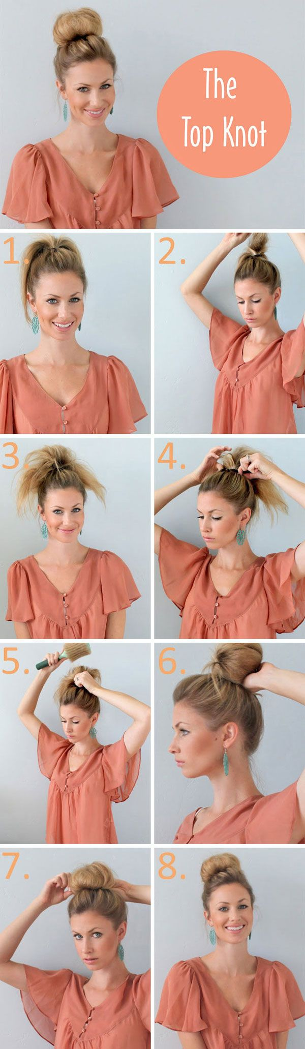 Tickled topknot