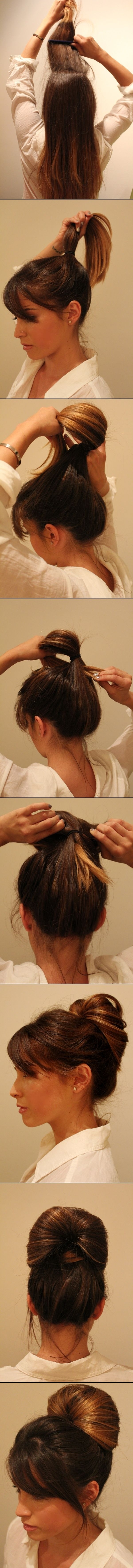 Simple tutorial for updos