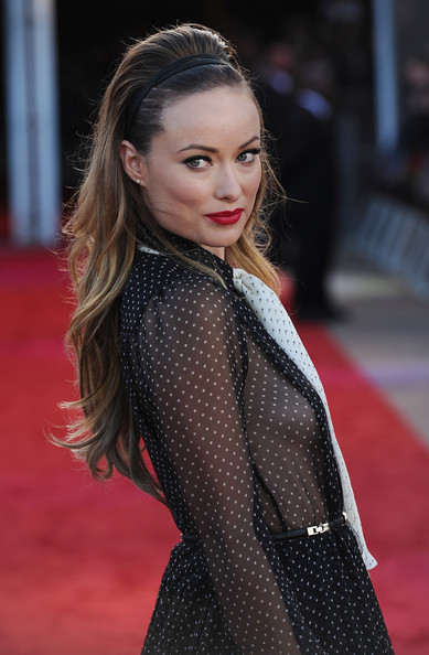 Olivia Wilde teased her hair
