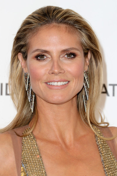 Heidi Klum teased her hair