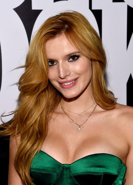 Bella Thorne Long Wavy Hairstyle