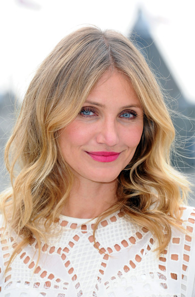 Cameron Diaz Long wave cut
