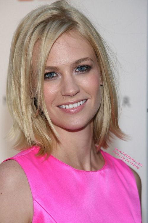 Slim bob haircut for medium hair