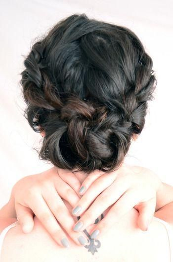 Double French Twist updo