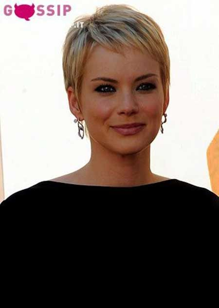 Nice short pixie hairstyle