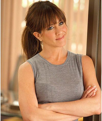 Cute ponytail - Jennifer Aniston hairstyles