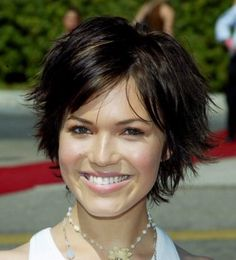 Short Shaggy Black Hairstyle 177892254001286097