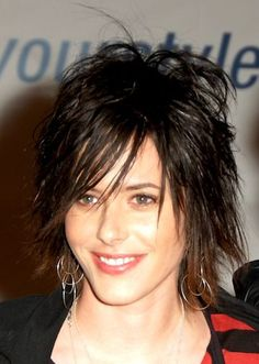 Short shaggy hairstyle 213076626090252193